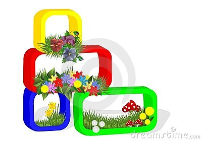 Floral arrangement, cdr vector
