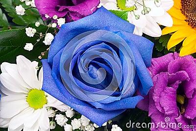 Floral arrangement closeup