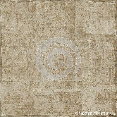 Floral Art Scrapbook Background