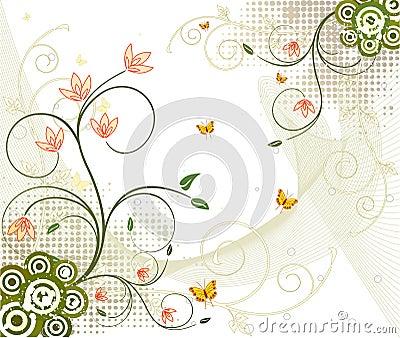 Floral  artistic vector design