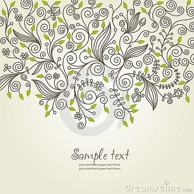 Free Floral Background Royalty Free Stock Photo - 11371705