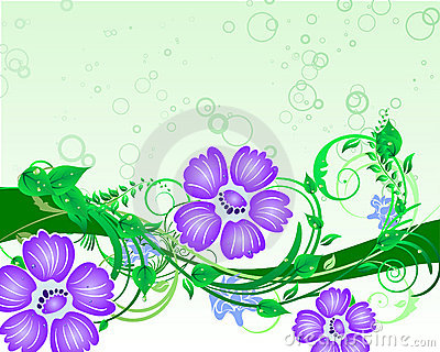 Floral Background Stock Photos - Image: 11408343