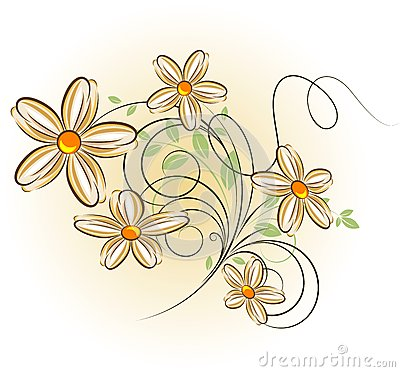 Floral Background Royalty Free Stock Photography - Image: 6486017