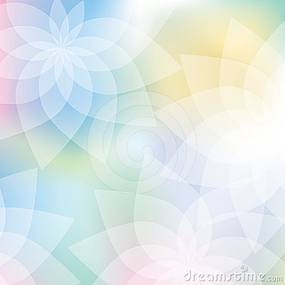 Free Floral Background In Pastel Colors Royalty Free Stock Photography - 24325787