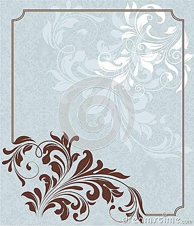 Damask Wedding Invitation for beautiful invitations layout