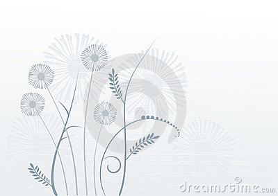 Floral background, meadow, garden
