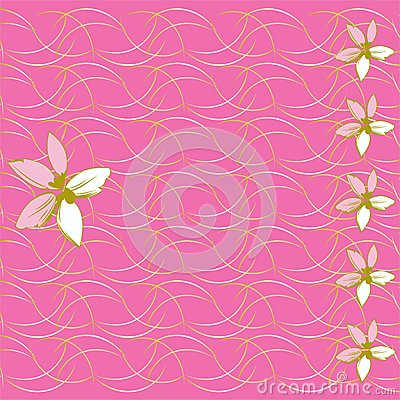 Floral background and mother s day card