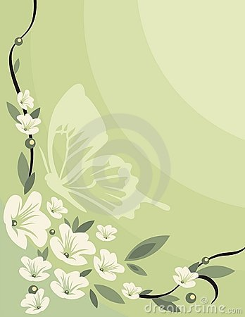 Free Floral Background Series Royalty Free Stock Image - 1053636