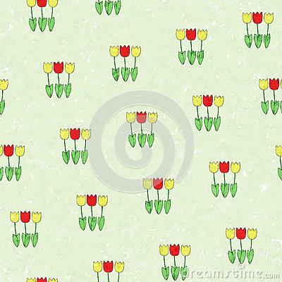 Floral background -tulips