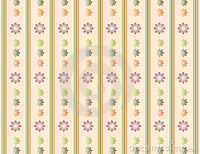 Floral background vanilla
