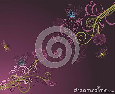 Floral background2