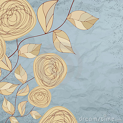 Free Floral Backgrounds With Vintage Roses. EPS 8 Royalty Free Stock Photos - 21257338