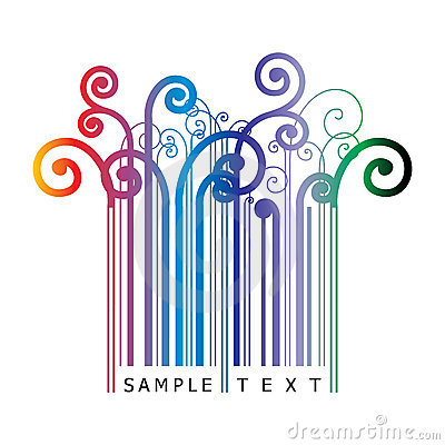 floral barcode
