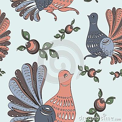 Folk Art Bird Pillow - Premier Yarns Official Online Store