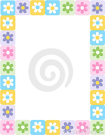 Graphics For Cute Flower Border