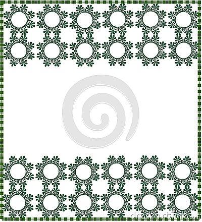 Floral border/frame