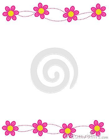 Floral border / frame