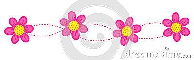 Floral border / frame / divider