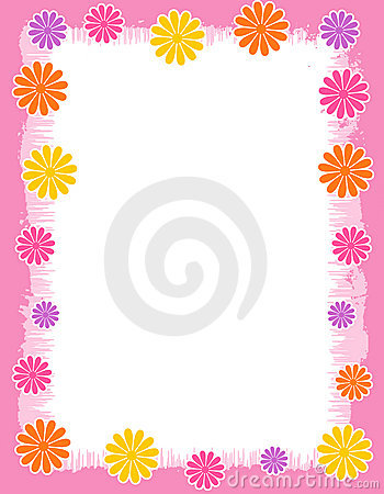 Floral Border - spring and summer