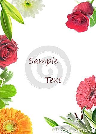 Floral Card.