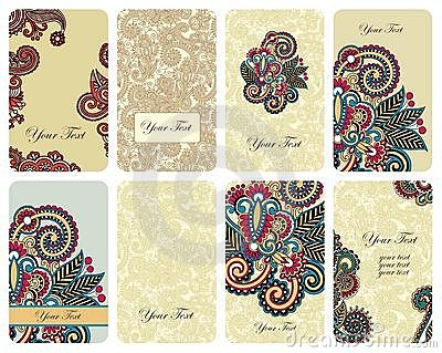 Floral card set