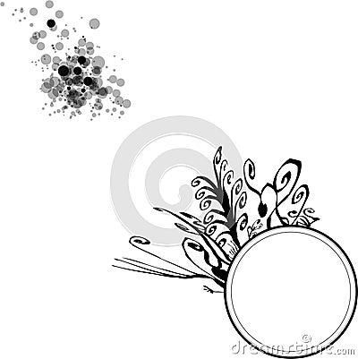 Floral Circle Blobs