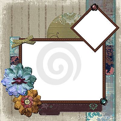 Floral Country Photo Frame