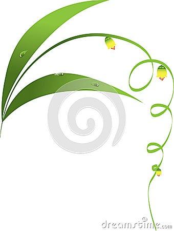 Floral decor element