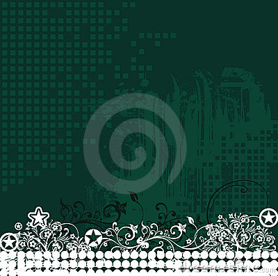 Floral Design 10 (vector)