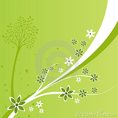 A floral Design Background