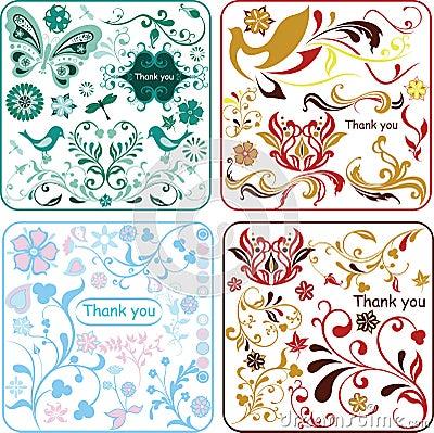 Floral design elements 1/2