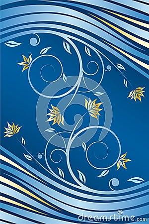 Free Floral Design Vector Royalty Free Stock Photos - 8101128