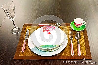Floral dish