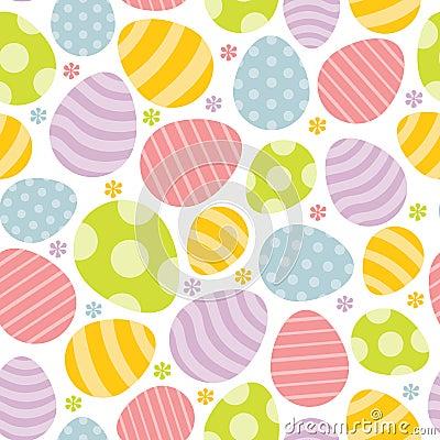 Floral easter egg