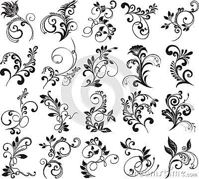 floral elements for design royalty free stock photo free printable fleur de lis clipart fleur de lis clip art border