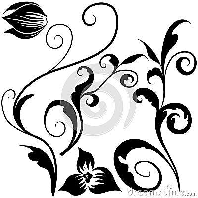 Floral elements J