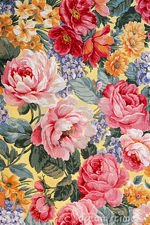 Floral Fabric 01