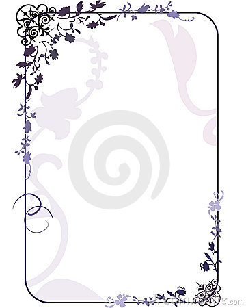 Free Floral Frame Royalty Free Stock Images - 1330329