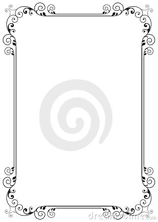 Free Floral Frame Stock Photos - 22455993