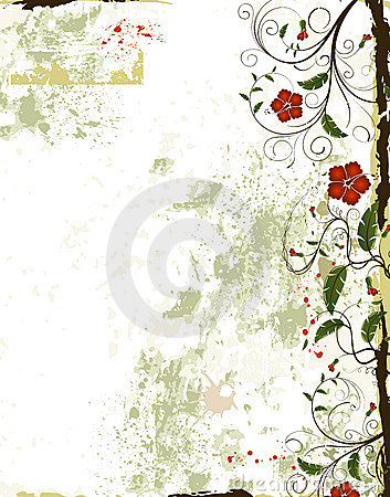 Free Floral Frame Stock Photography - 2441462