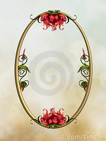 Free Floral Frame Royalty Free Stock Photo - 5146065