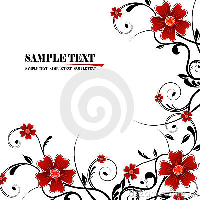 Free Floral Frame Royalty Free Stock Image - 5477686