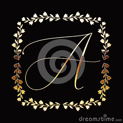 Free Floral Frame Or Monogram Hand Drawn Element. Doodle Branches Border Illustration For Wedding Invitations, Greeting Card Or Menu. Stock Photo - 149065730