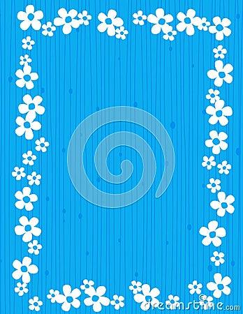 Floral frame - spring