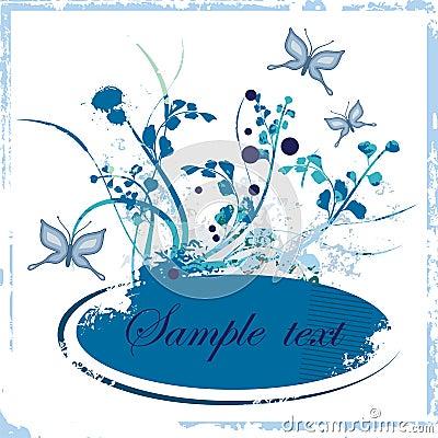Free Floral Grunge Frame Series Stock Images - 2790854