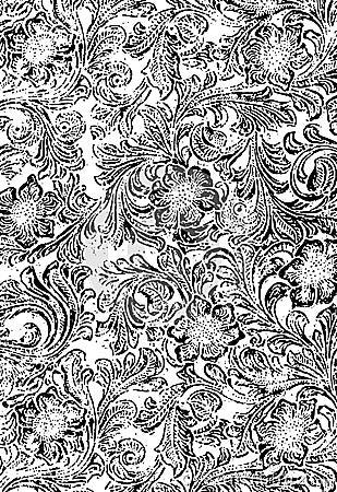 Floral Grunge Texture