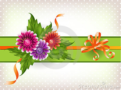 Floral mesh background