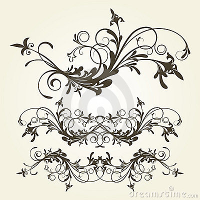 Free Floral Ornament Royalty Free Stock Photos - 4352938