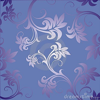 Floral ornament. Vector.
