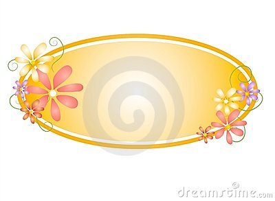 Floral Oval Web Page Logo 2